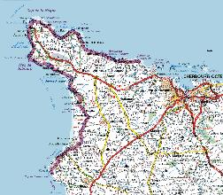 carte du cotentin détaillée Vous avez cherché carte du cotentin detaillee   Arts et Voyages